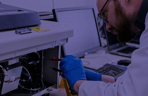 Testing scientific equipment